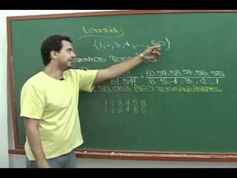 G1 - Professor calcula a probabilidade de ganhar na loteria