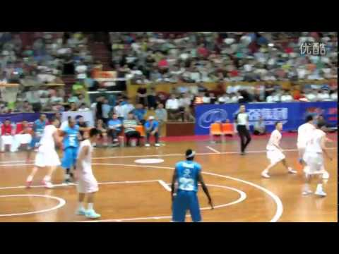 youku comUSA LEGEND TEAM vs BAYI TEAM — T Mac Crossover【Game 1】