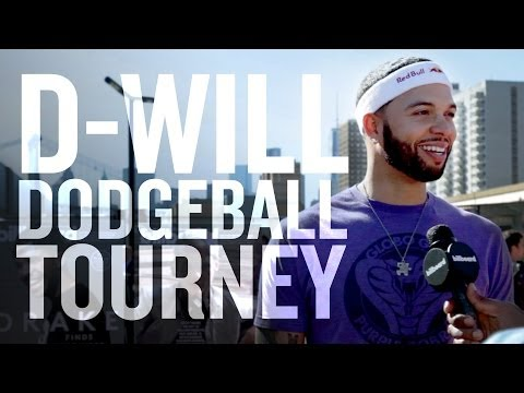 Deron Williams and Brooklyn Nets play dodgeball