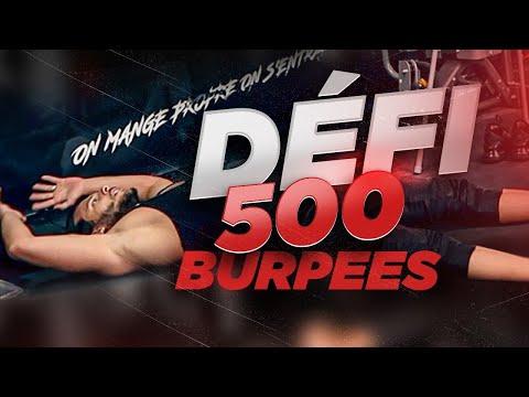 CHALLENGE 500 BURPEES - Bodytime