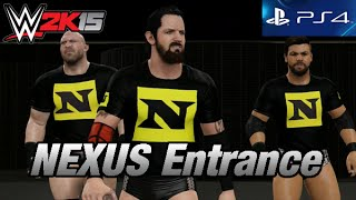 WWE 2K15 [PS4] Nexus Community Creations
