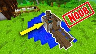 Khi NOOB Xây Cầu Tiêu Trong Minecraft!!