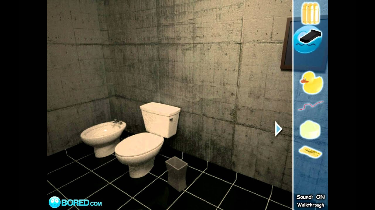Escape 3d the bathroom walkthrough youtube for 3d walkthrough