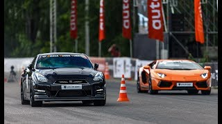1200+ HP Twin Turbo Aventador vs Nissan GT-R vs BMW M6. DragTimes info video - Драгтаймс инфо видео.