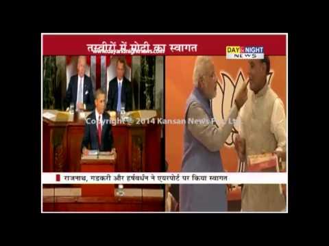 Barack Obama congratulates Narendra Modi   Invites him to US