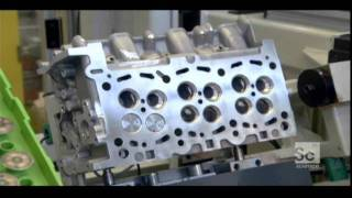 How a TDI engine is made and assembled on Audi Q7 TDI