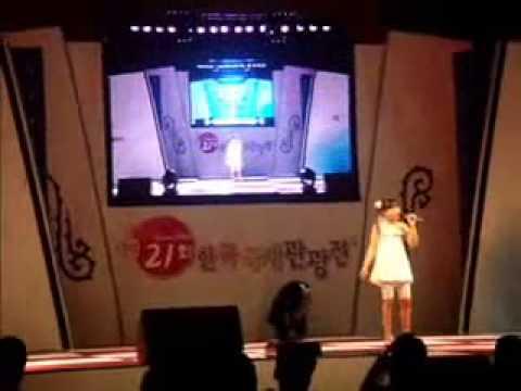Janella Salvador  10-yr. old sings in Korea  (KOTFA 2008).