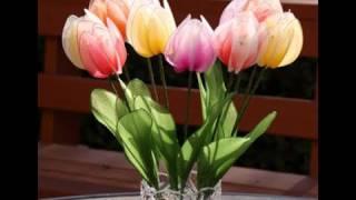DIY How To Make Nylon Tulips Nylon Flower Tutorial
