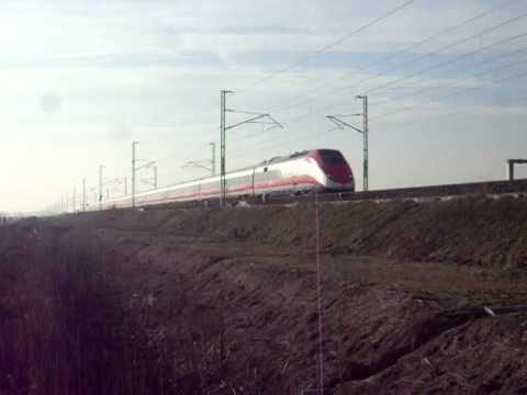 Eurostar 9559 @ Novara Ovest a 300km/h