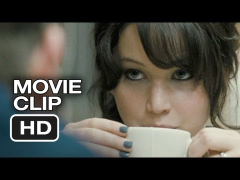 Silver Linings Playbook Movie CLIP #2 - Diner (2012) - Bradley Cooper, Jennifer Lawrence Movie HD