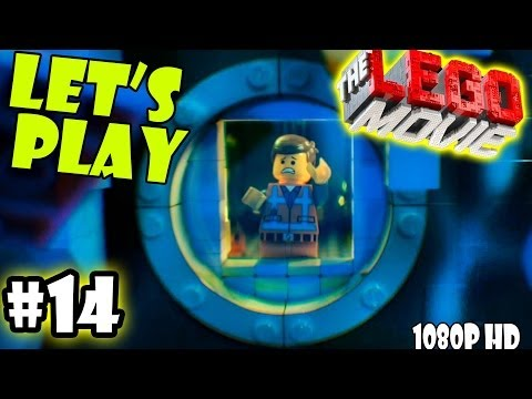 Let[ES][SQ]s Play LEGO Movie - Part 14: Bat Submarine (Patent Pending) | The Depths Walkthrough Wii U