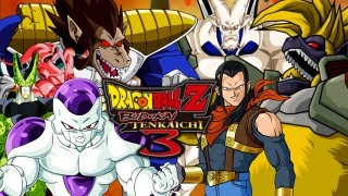 Dragon Ball Z Budokai Tenkaichi 3: DBZ Villains VS GT