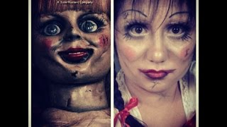 Annabelle Doll Korku Seansı Makyajı / Halloween Makeup