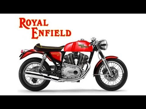 2014 Royal Enfield Continental GT Promo Video