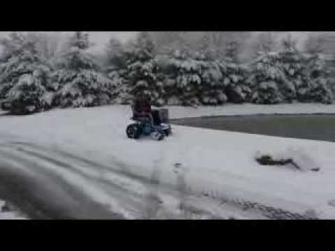 The Nomad in Action Through Deep Snow