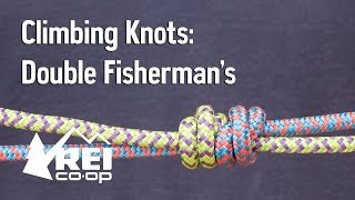 Rock Climbing: How to Tie a Double Fisherman's Knot