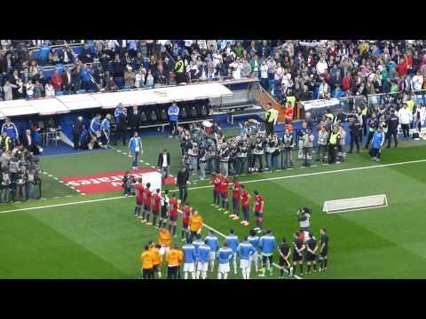 Pasillo de Osasuna. Real Madrid - Osasuna (13/14)