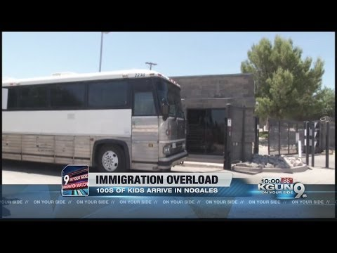 More illegal immigrant children dropped off in Nogales, mayor asking city for donations