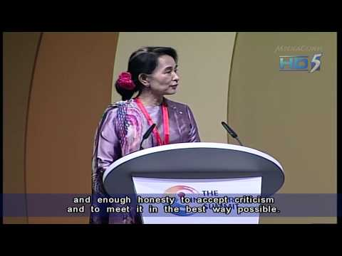 Aung San Suu Kyi: Constitutional changes key to improving Myanmar's economy - 21Sep2013