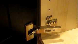IKEA INTEGRAL Kitchen Cabinet Door Hinge, How To Clip And