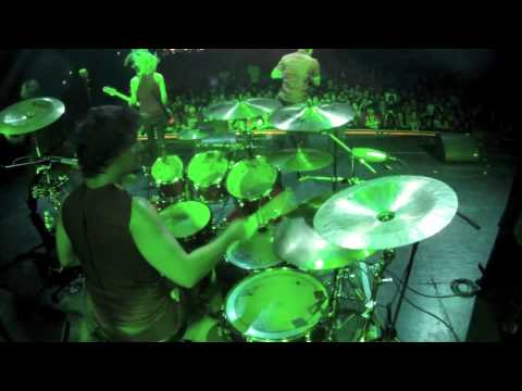 MindFlow: Break Me Out Drum Cam live @ The Wiltern - Take Action Tour 2013