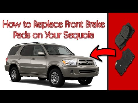 2005 Toyota Sequoia How To Replace The Front Brake Pads