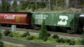 Modern HO Trains With Sound Decoders Part 1