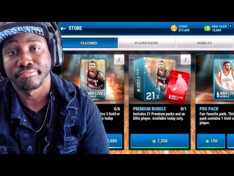 PREMIUM PACK OPENING vs PRO PACK OPENING! NBA Live Mobile 16 Gameplay Ep. 16