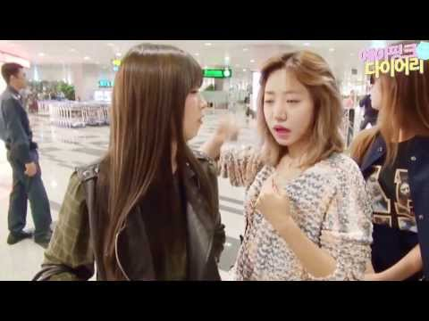 Apink Diary in Japan Taipei Singapore Vietnam 일본 대만 싱가포르 베트남