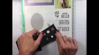 STAMPIN' GALS GONE WILD With Connie & Josee Punch