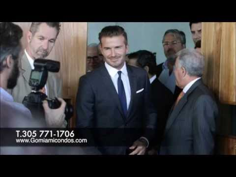 Previews, pictures and first hand information Beckham's Stadium in Miami