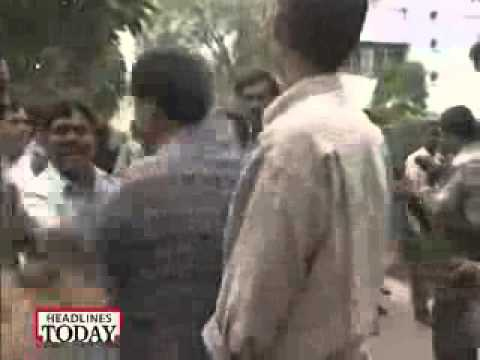 Ashutosh slapped by Kanshiram