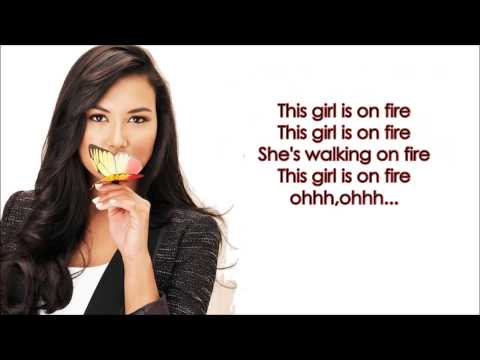 Girl on fire - Glee version (Santana) + DOWNLOAD LINK