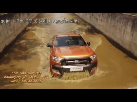 Khả năng lội nước của Ford Ranger 2016