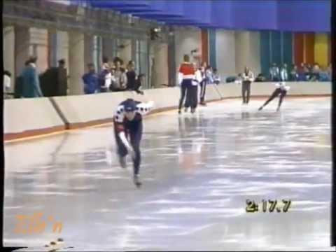 Winter Olympic Games Calgary 1988 – 5 km Lapuga – Van Gennip (WR)