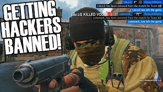 I Got 2 Hackers Banned - Rainbow Six Siege