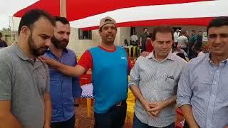 Paulinho da Força participa de inauguração de posto do INCRA em Promissão-SP