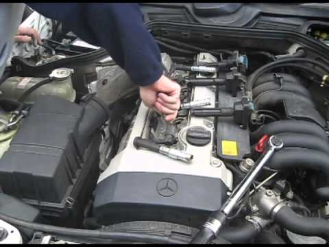 1994 Mercedes E320 Spark Plug Replacement M104 Engine