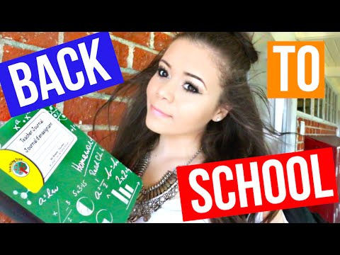 Perfect Back To School Hair, Makeup & Outfit!   Krazyrayray