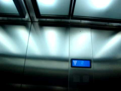 ThyssenKrupp MRL Traction Elevators/Lifts at Warsaw Chopin Airport, Warsaw, Poland
