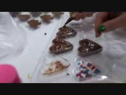 cara membuat coklat valentine atau praline