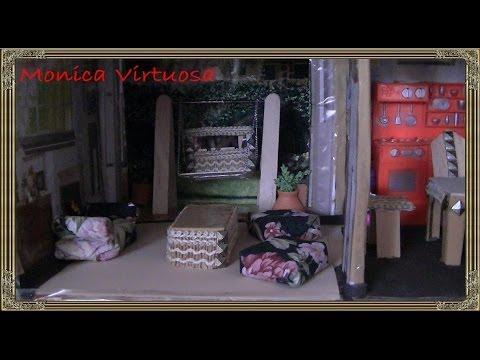 muebles de sala para casa de muñecas