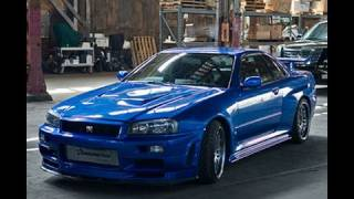 Fast And Furious 1998 Nissan Skyline GTR Muscle Vs