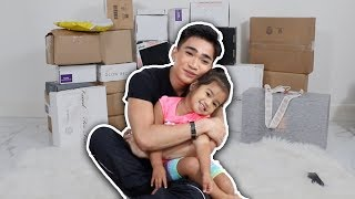 UNBOXING PR PACKAGES WITH MY NIECE + GIVEAWAY