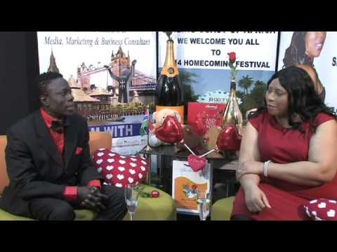 InterFace Gambia on Ben TV Friday Feb14th a Special Valentine Show With Lady J and Bai Eli Touray