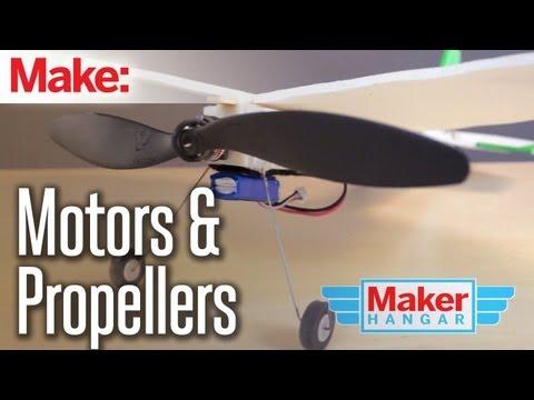 Maker Hangar Episode 2: Motors/Propellers