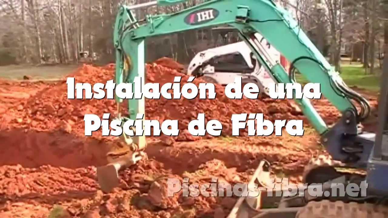 Piscinas de fibra c mo se instala una piscina de fibra - Piscinas de fibra ...