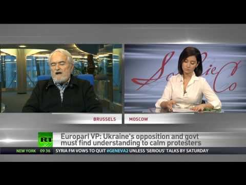 Riots, violence won't bring Ukraine closer to decision on European membership - VP of EU parliament