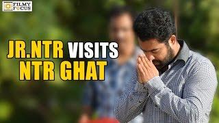 Jr NTR visits NTR Ghat : Exlcusive Pics