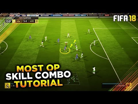 MOST OVERPOWERED SKILL COMBO to USE in FUT CHAMPIONS & DIVISION 1! FIFA 18 TUTORIAL - TIPS & TRICKS
